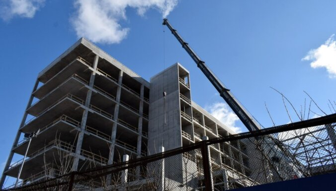 2018. gadā būvniecības produkcijas apjoms pieaudzis par 21,9%