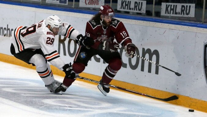 Videls un Majone iebalsoti KHL Zvaigžņu spēles sākumsastāvā