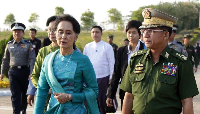 Mana partija eksistēs, kamēr eksistēs tauta, paziņojusi aizturētā Mjanmas līdere Su Či