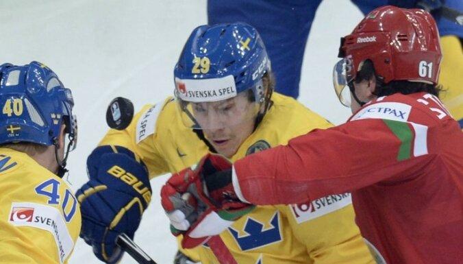 Video: Zviedrija izslēdz mājiniekus baltkrievus no pasaules čempionāta