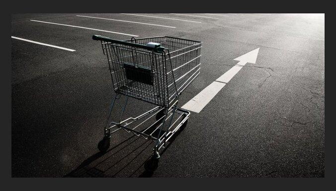 Потребительская корзина уменьшилась на 4,3 лата