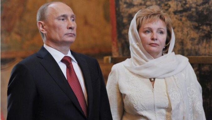 Vladimirs Putins šķiras no sievas