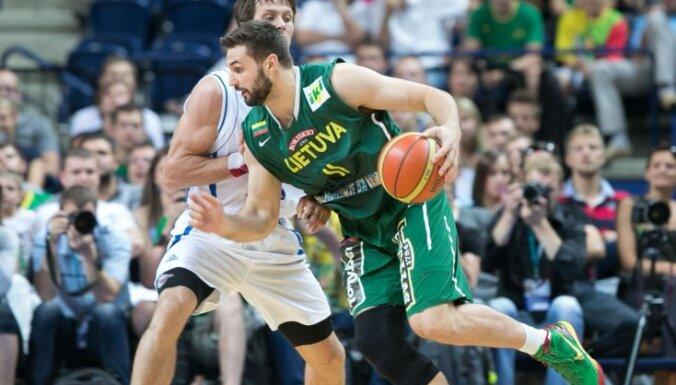 Latvijas basketbolistu pretinieki EČ Lietuva nosauc izlases kandidātus