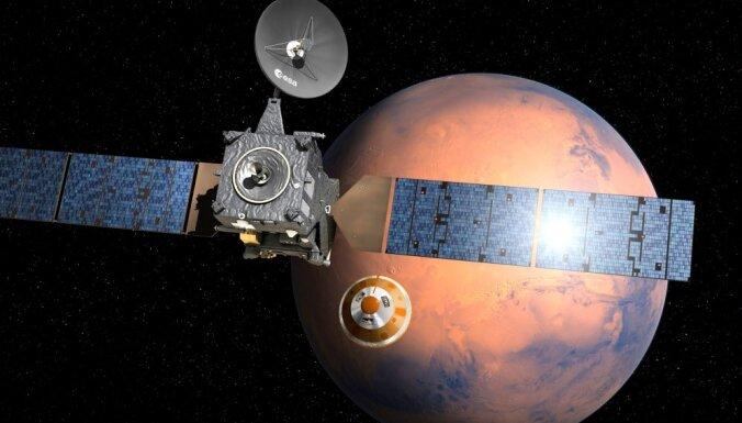 NASA сообщило об обнаружении возможных признаков жизни на Марсе