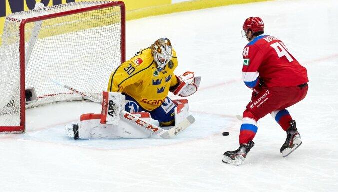 Восьмая победа подряд: как сборная России обыграла Швецию