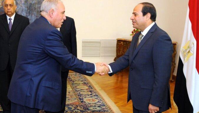 Ēģiptes tieslietu ministrs spiests atkāpties zaimošanas dēļ