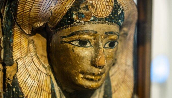 Nacionālais Lietuvas muzejs prezentē unikālu Senās Ēģiptes mūmiju izstādi