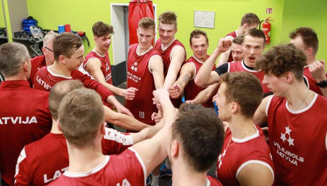 Latvijas volejbola izlases treniņnometnē pirms Eiropas Zelta līgas spēlēm piedalīsies 16 volejbolisti