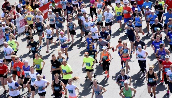 Дан старт Рижскому марафону Rimi, который в этом году пройдет в виртуальной среде