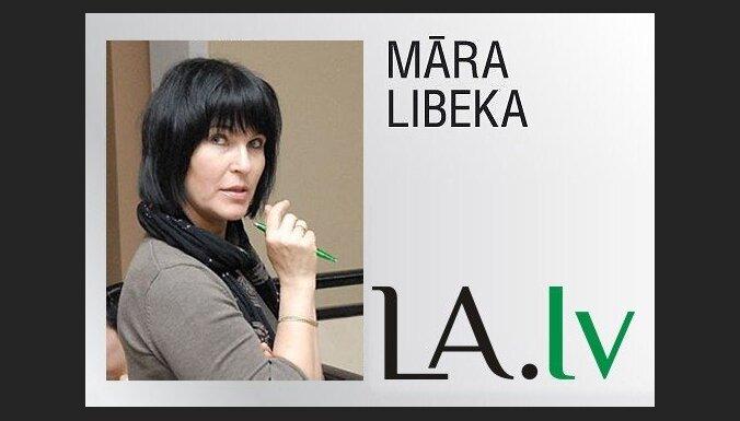 Māra Libeka: Cirks pie Brīvības pieminekļa