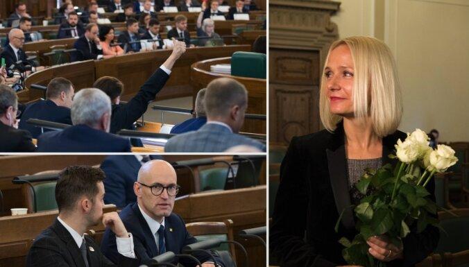 'Kapitālais remonts' turpinās: Saeima ieceļ Purgaili par FKTK priekšsēdētāju