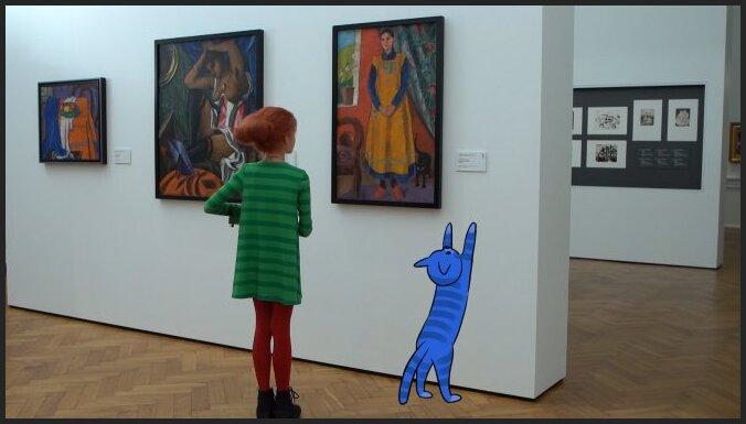 Tapis izglītojošs raidījums bērniem par mākslu 'Mazā Mula lielajā mākslas pasaulē'