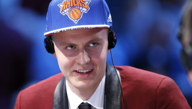 Porziņģis ticies ar uzticamāko 'Knicks' fanu – Spaiku Lī
