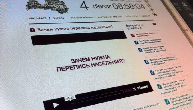 Pēc 10 sūdzībām sākta pārbaude par tautas skaitīšanas informācijas izplatīšanu krievu valodā