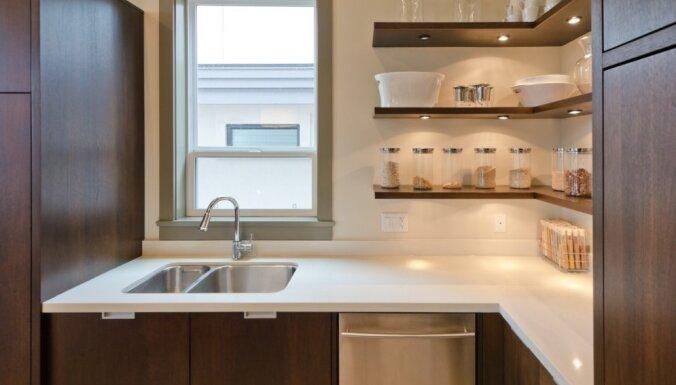 Nepraktiskā stūra zona virtuvē – kā izmantot lietderīgi