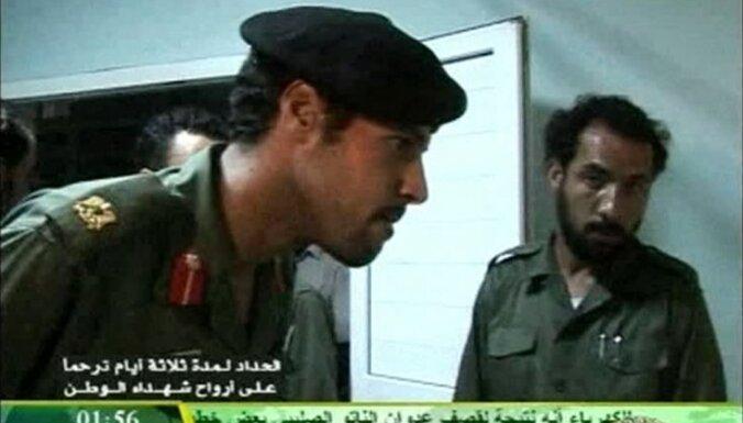 Арестованный сын Каддафи выдал, что его брат жив