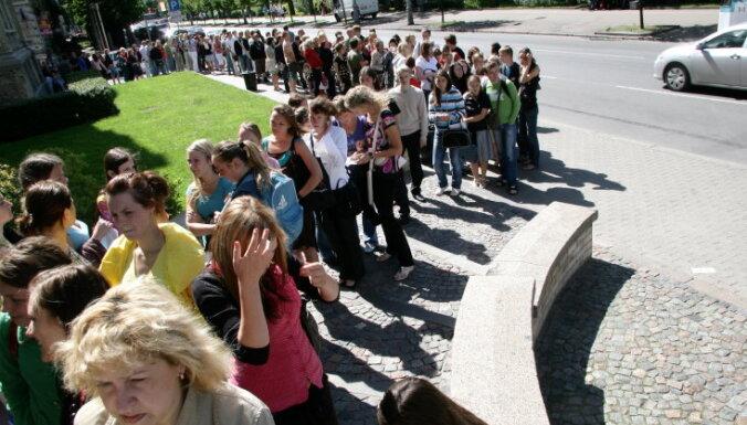Во всех ВУЗах начался прием заявок на обучение, в первый час лидирует Латвийский университет