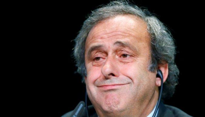 Bijušais UEFA prezidents Platinī lūkos atgūt prāvu naudas summu