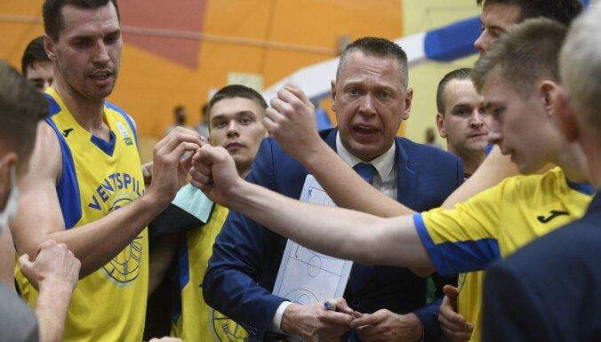'Ventspils' basketbolisti pēc mēneša pauzes atgriežas ar sagrāvi pret 'Ogri'