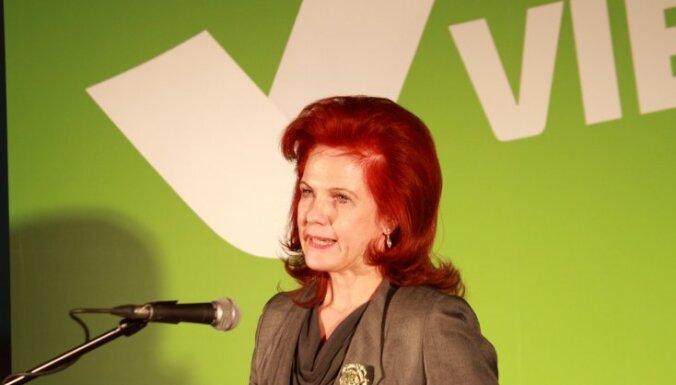 Āboltiņa: 'Vienotība' iesniegs savu pieteikumu Zatlera kandidatūras izvirzīšanai prezidenta amatam