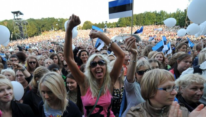 Igaunijas iedzīvotāju vairums neticot Eiropas Savienības ilgai pastāvēšanai
