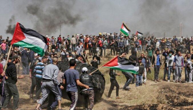 ФОТО: На границе сектора Газа и Израиля произошли новые столкновения