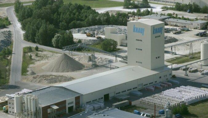 Строительный гигант Knauf оштрафован в Латвии на 1,6 млн евро