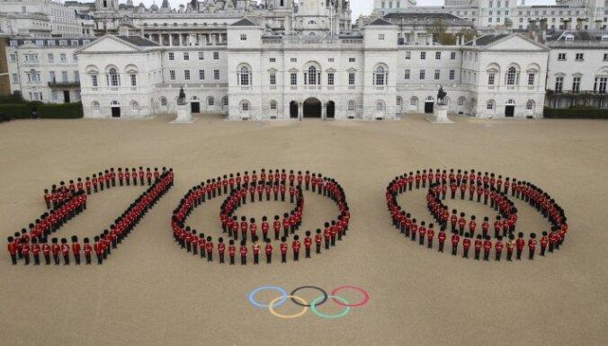 За сто дней до Олимпиады участие в ней обеспечили 22 латвийских спортсмена