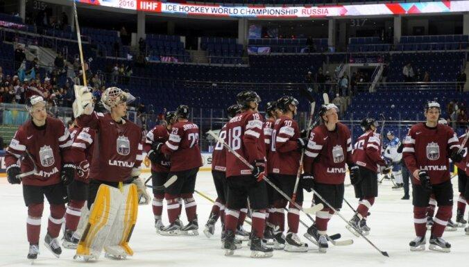 Стал известен календарь сборной Латвии на хоккейном ЧМ-2017