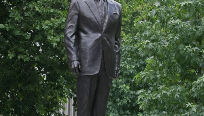 В центре Лондона открыт памятник Рональду Рейгану