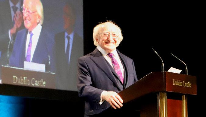 Par Īrijas prezidentu uz otro termiņu ievēl Higinsu