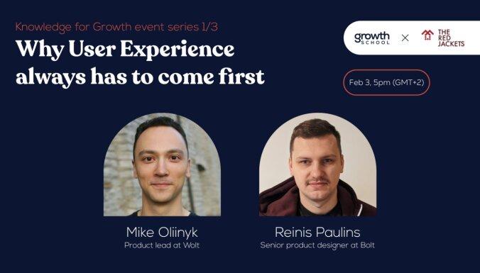 Diskusiju cikla 'Zināšanas izaugsmei' pirmā saruna veltīta lietotāju pieredzei un klientu izpētei. Ieraksts.
