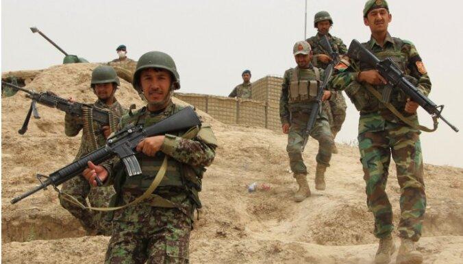Kopš 2015. gada Afganistānā nogalināti 30 000 drošībnieku, paziņo prezidents