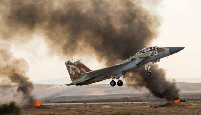 Izraēla sabombardējusi Sīrijas ķīmisko ieroču objektu