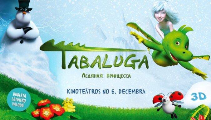 Noslēdzies konkurss par iespēju laimēt 2 biļetes uz aizraujošu animācijas filmu 'Tabaluga' - par pūķi, kurš gribēja iemācīties uguni spļaut