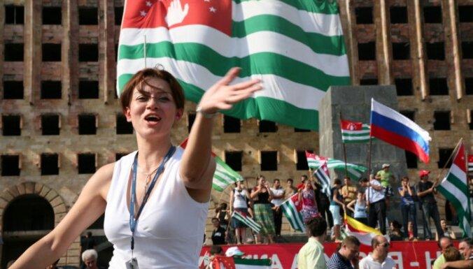 """Абхазия и Южная Осетия публично опротестуют """"оккупацию"""""""