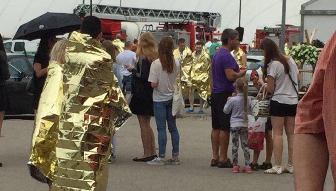 ЧП в Līvu akvaparks: посетители эвакуированы из-за задымления