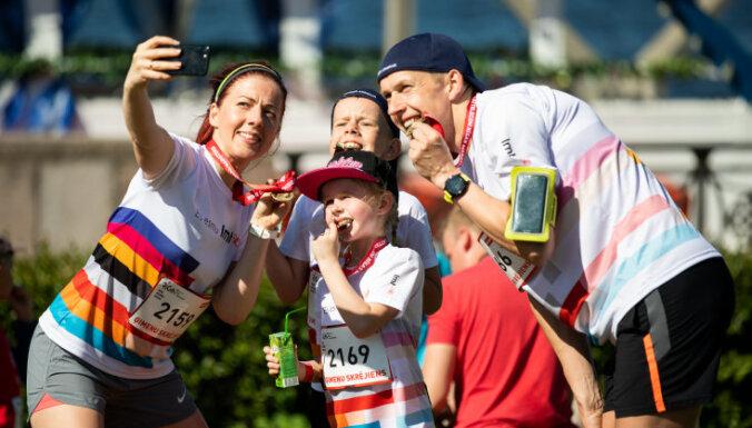 Vecākus kopā ar bērniem aicina pieteikties maratonam