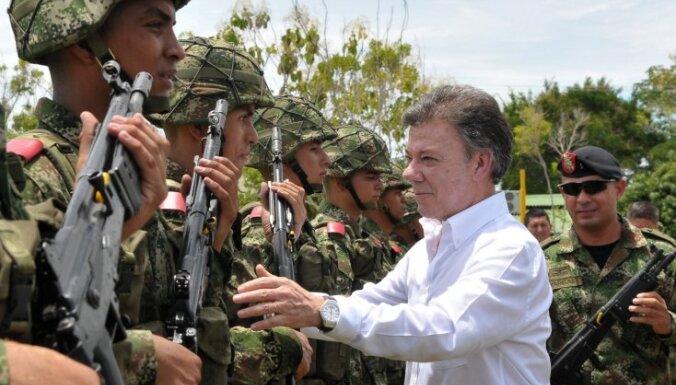 Kolumbijas prezidentam diagnosticēts prostatas vēzis