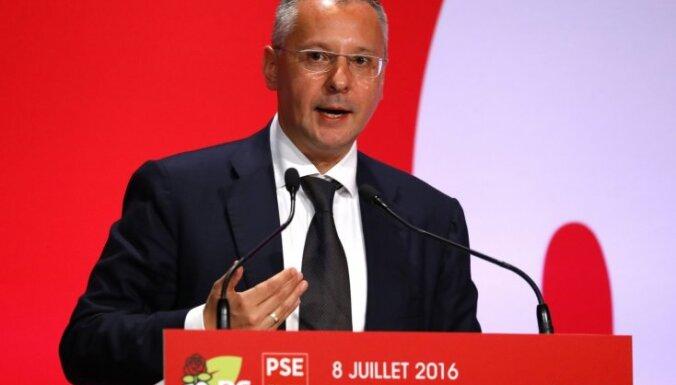 Eiropas Sociālistu partijas prezidents Rīgā tiksies ar Ušakovu