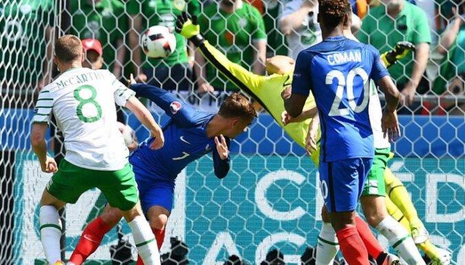 ВИДЕО, ФОТО: Дубль Гризманна приносит Франции волевую победу над Ирландией и место в четвертьфинале