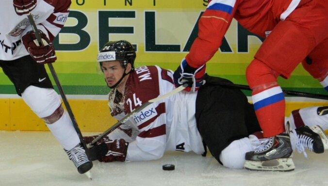 Latvija noslīd uz septīto vietu IIHF 'spēka rangā '