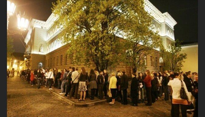 'Muzeju nakts' pasākumus apmeklējuši vairāk nekā 250 000 cilvēku