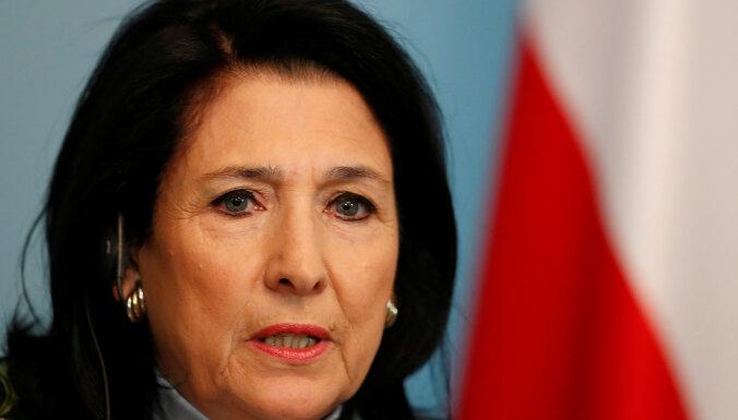 Президент Грузии призвала Россию игнорировать оскорбления Путина