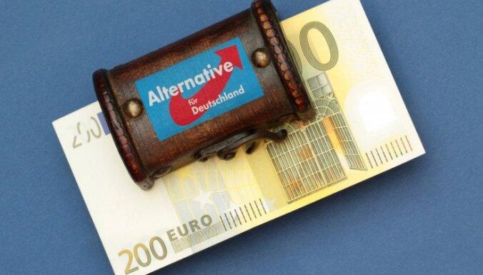 Aptauja: Ja parlamenta vēlēšanas Vācijā notiktu šomēnes, AFD ierindotos trešajā vietā