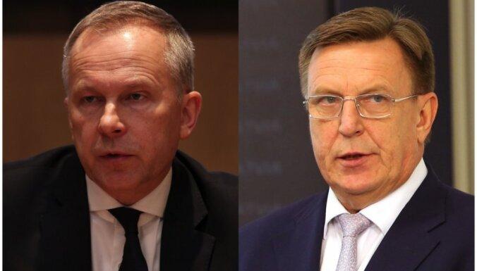 Premjers prognozē Rimšēvičam aizliegumu ieņemt amatu; iemaksāta 100 000 eiro drošības nauda (plkst. 13.12)