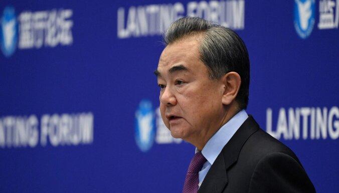 Ķīna ir gatava konstruktīvam dialogam ar ASV, paziņo ministrs