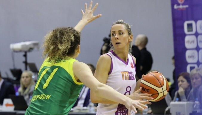 'TTT Rīga'pārliecinoši iekļūst Eiropas Sieviešu līgas finālčetriniekā