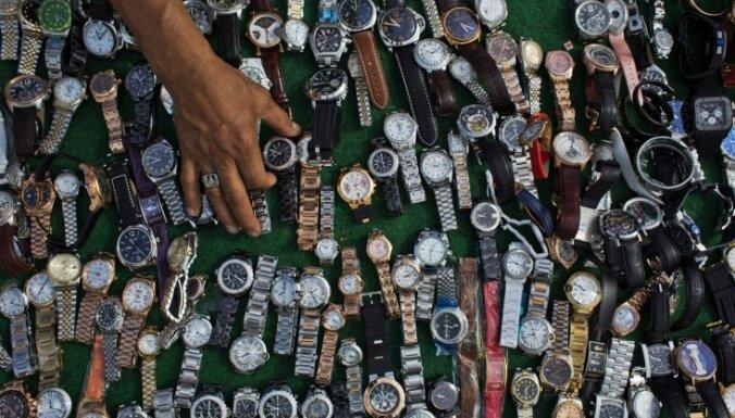 Pētījums: viltotas un pirātiskas preces veido 3,3% no globālā tirdzniecības apjoma