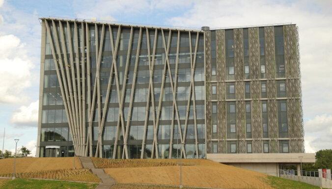 Сдано в эксплуатацию новое здание Латвийского Университета за 21 млн евро